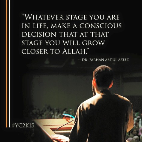 whatever stage in life